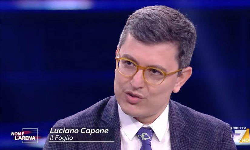 Foto per capire chi è Luciano Capone
