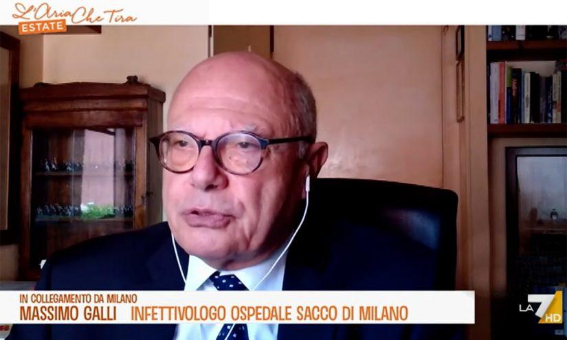 Foto per capire chi è Massimo Galli