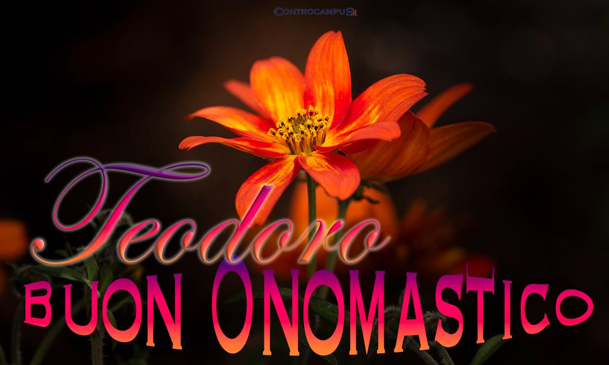 Immagini auguri buon onomastico per San Teodoro